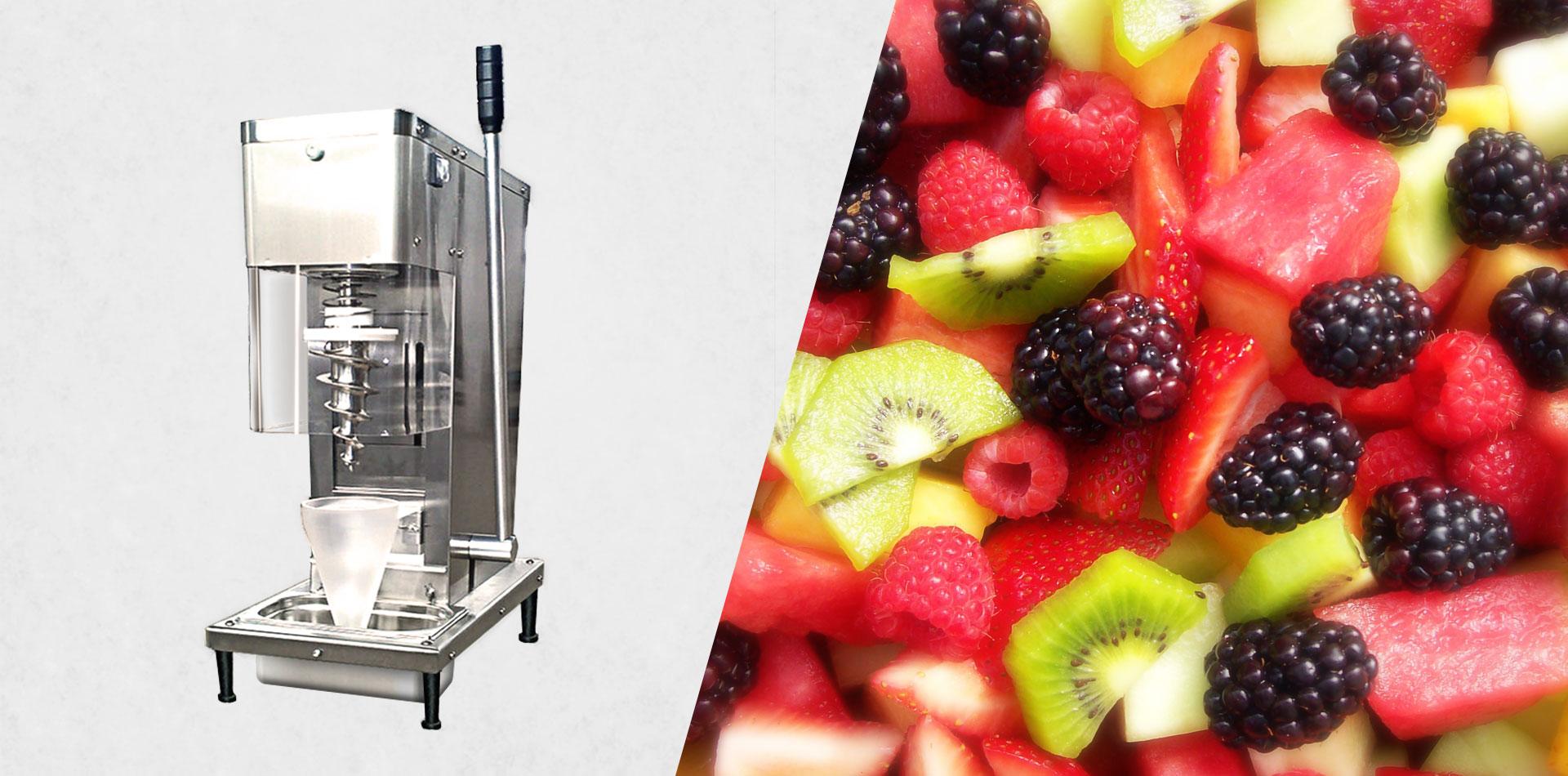 fruit machine ice cream